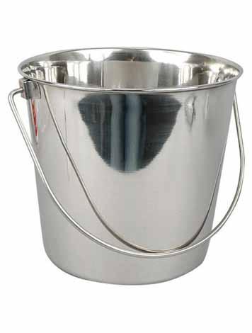 Seau 20 litres avec couvercle